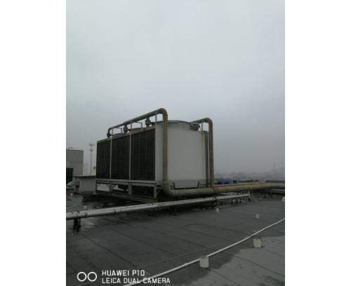冷却塔更换填料